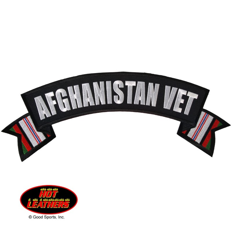 GOOD SPORTS PPM2011, #PPM2011; PATCH - AFGHANISTAN VET  11 X 3 ""