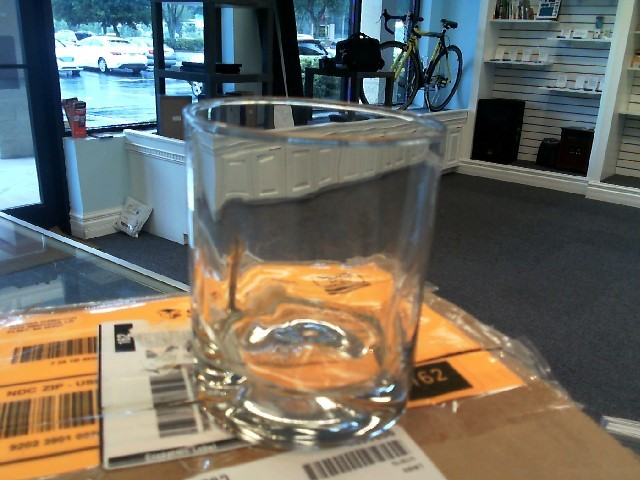 LIBBEY Glassware 4PC IMPRESSIONS DOUBLE OLD FASHION GLASSES