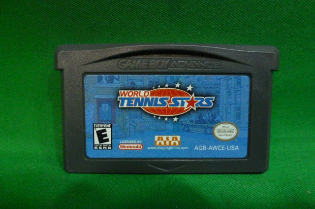 NINTENDO Nintendo GBA Game WORLD TENNIS STARS