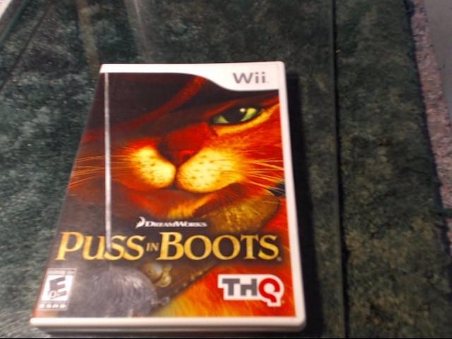 NINTENDO Nintendo Wii Game PUSS IN BOOTS WII