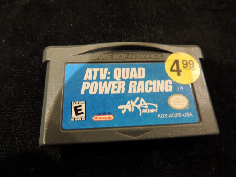 ATV Quad Power Racing - GBA - Game Boy Advance - Cartridge Only - Works Great