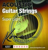 KONA XLT A207 ACOUSTIC STRINGS SBB .011- .050