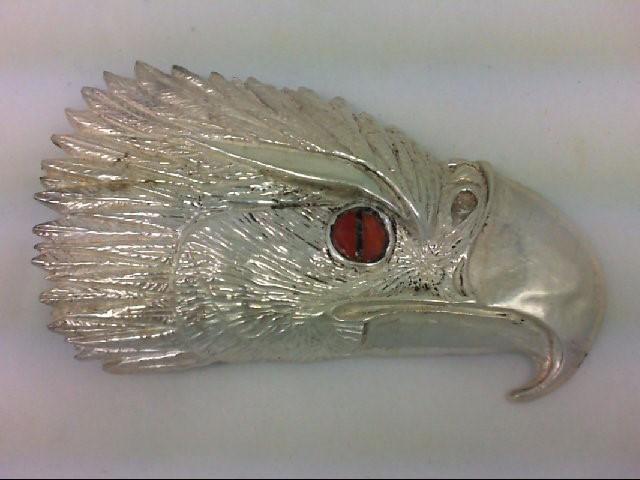 Silver Belt Buckle 925 Silver 92g