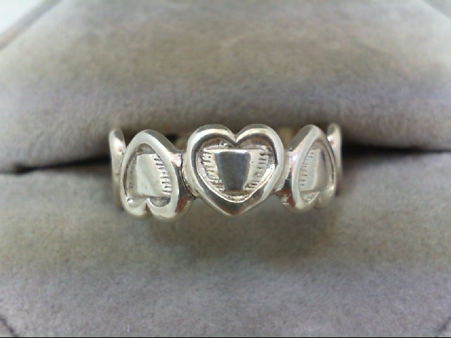 Lady's Silver Ring 925 Silver 4g