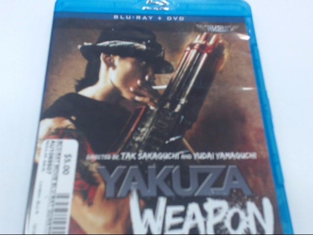 YAKUZA WEAPON - BLU-RAY MOVIE