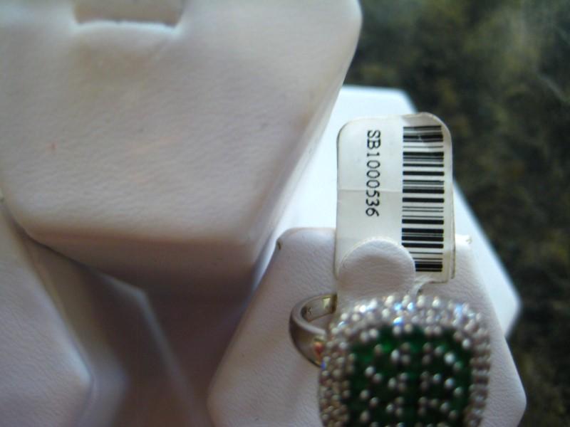 Lady's Gold Ring 14K White Gold 5.1g