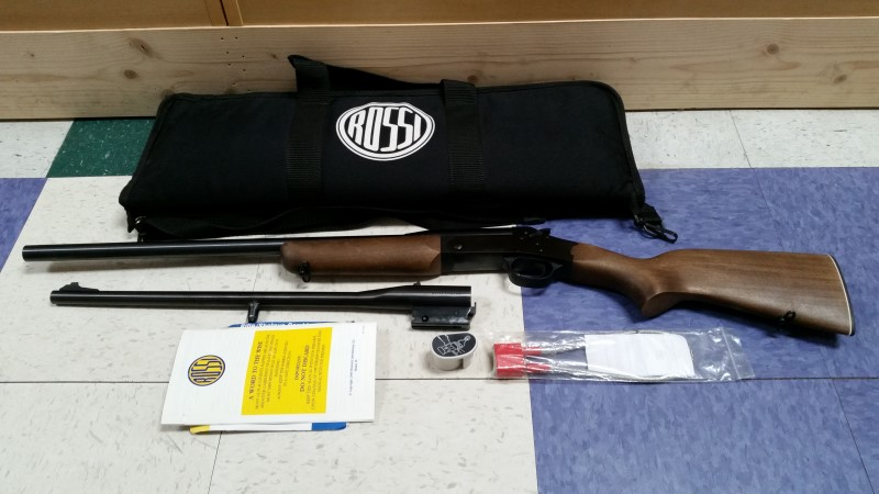 ROSSI FIREARMS YOUTH COMBO 22LR/20GA. 22""