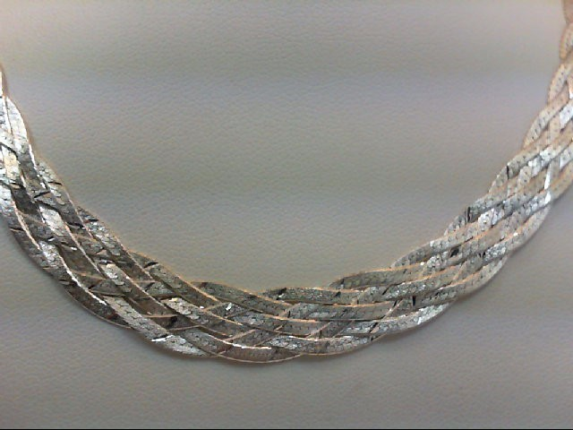 "16"" Silver Chain 925 Silver 20.3g"