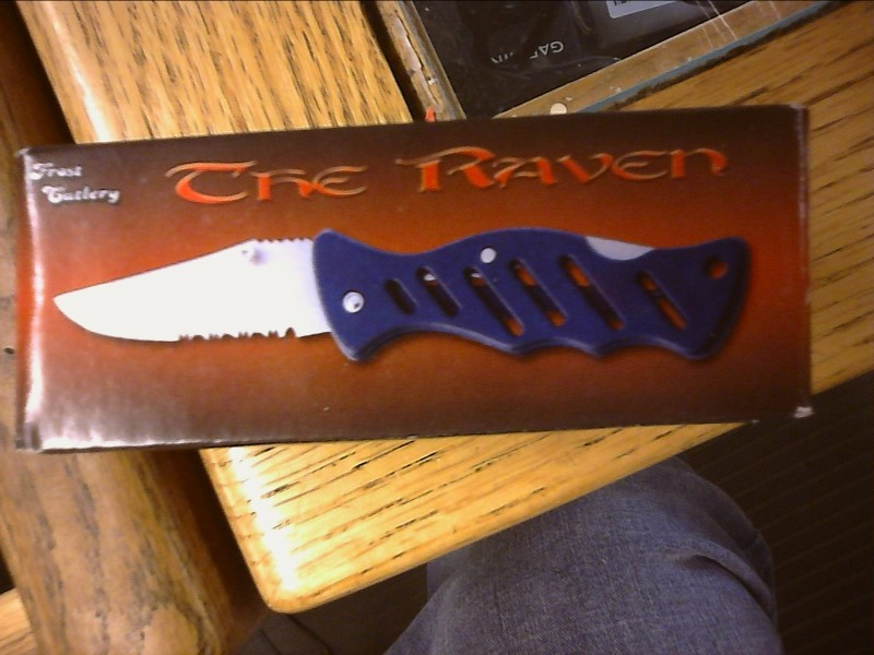 FROST CUTLERY Pocket Knife THE RAVEN