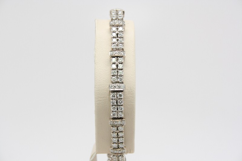 DIAMOND TENNIS BRACELET 14K WG