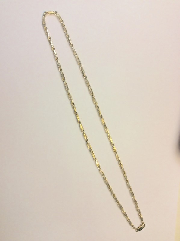 """18"""" Gold Rope Chain 14K Yellow Gold 3dwt"""