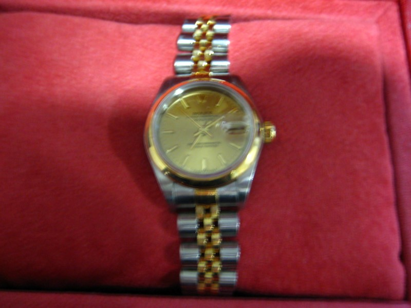 ROLEX Lady's Wristwatch 69163 STAINLESS-18K PERPETUAL LADY DATEJUST