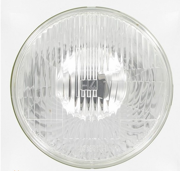 "BIKER'S CHOICE 200004 #67755-81; 7"" ROUND HEAD LAMP 12V"
