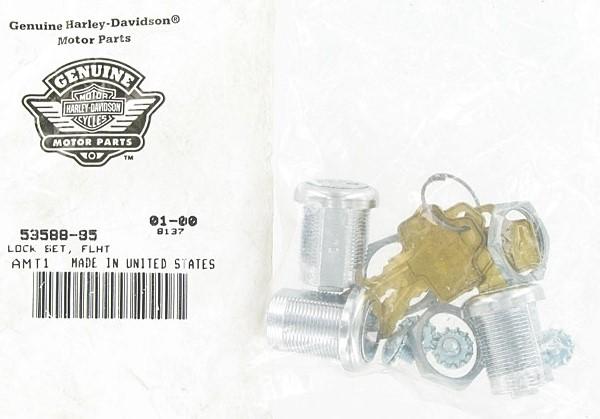 HARLEY DAVIDSON 53588-85 LOCK SET-DRESSERS