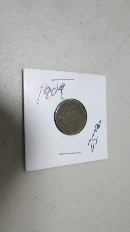 1904 INDIAN HEAD PENNY ONE CENT