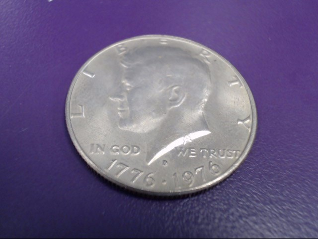 1776-1976 D Bicentennial Kennedy Half Dollar 50c