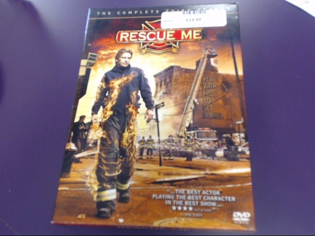 DVD BOX SET DVD RESCUE ME SEASON 3