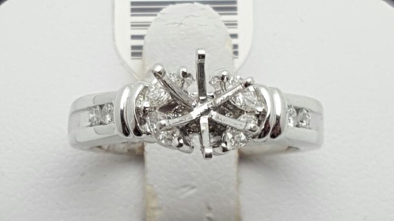 Lady's Platinum-Diamond Wedding Band 8 Diamonds .40 Carat T.W. 950 Platinum 11.2