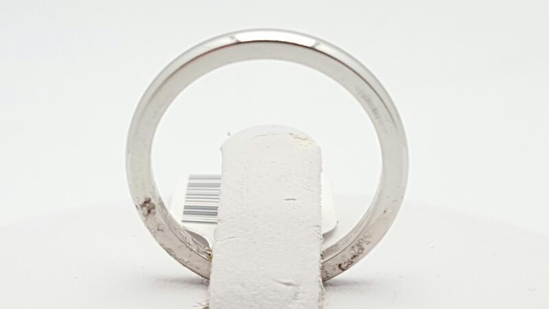 Lady's Platinum Wedding Band 950 Platinum 3.45g Size:5
