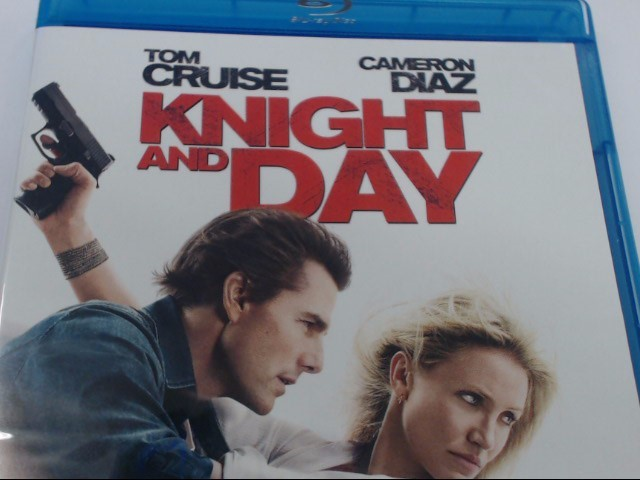 KINGHT AND DAY - BLU-RAY MOVIE