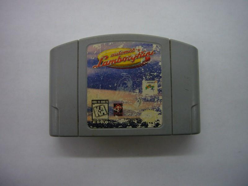NINTENDO 64 Game AUTOMOBILI LAMBORGHINI *CARTRIDGE ONLY*