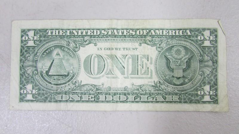 UNITED STATES MONEY $1 BILL 2006