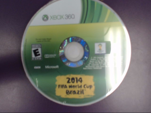 2014 FIFA World Cup Brazil - Xbox 360 - Disc Only