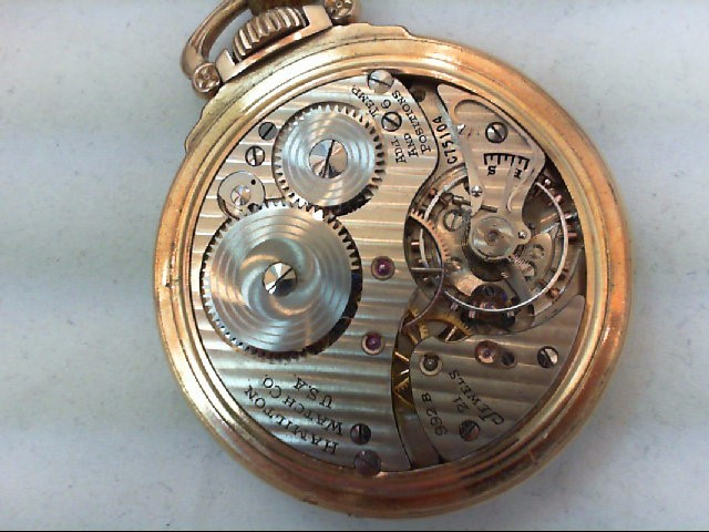 HAMILTON Pocket Watch 992B
