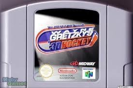 NINTENDO Nintendo 64 WAYNE GRETZKYS 3D HOCKEY