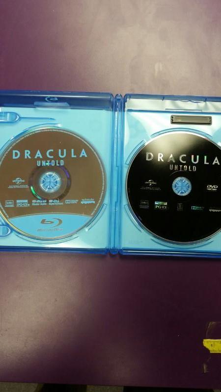 DVD MOVIE  DRACULA UNTOLD