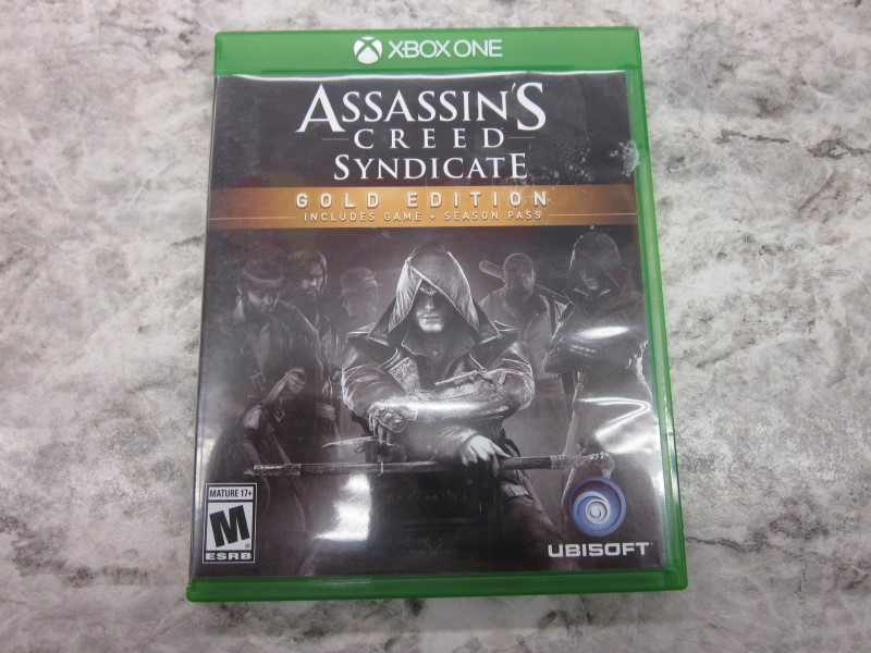 XBOX ONE ASSASSINS CREED SYNDICATE GOLD EDITION