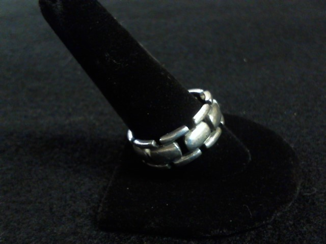 Gent's Silver Ring 925 Silver 5.9dwt Size:12.5
