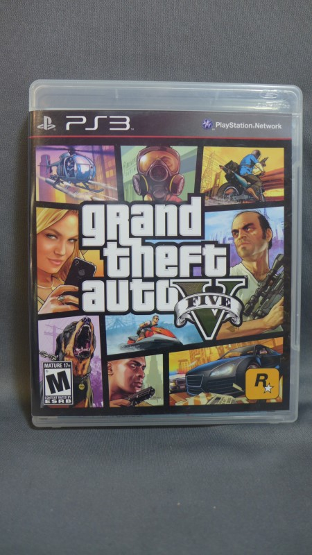 PLAYSTATION 3 GAME GRAND THEFT AUTO FIVE PS3