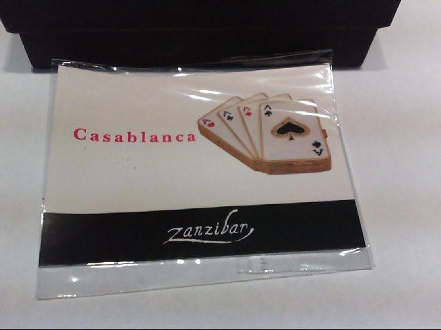 ZANZIBAR Collectible Plate/Figurine TRINKET BOX