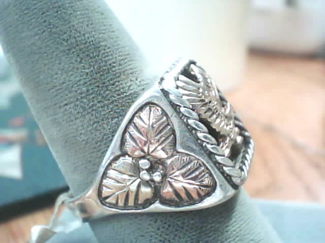 Gent's Silver Ring 925 Silver 5.4dwt