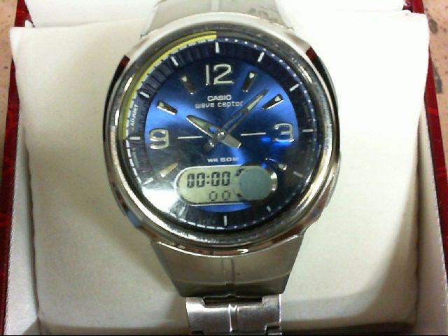 CASIO Gent's Wristwatch WAVE CEPTOR