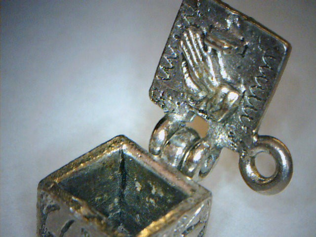 Silver Charm Silver Plate 3.7dwt