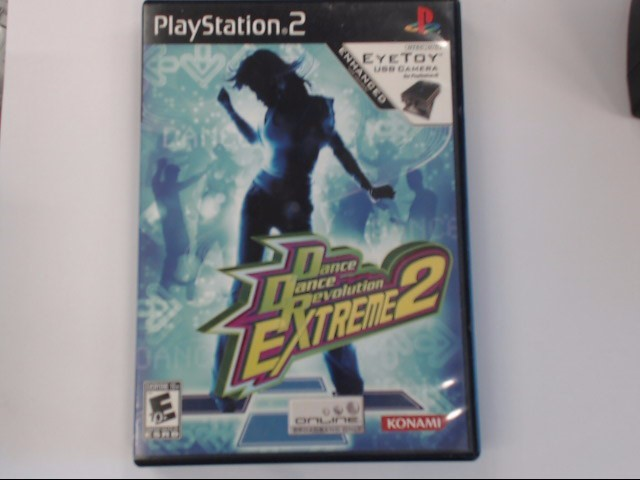 DANCE DANCE REVOLUTION EXTREME 2-PS2 GAME