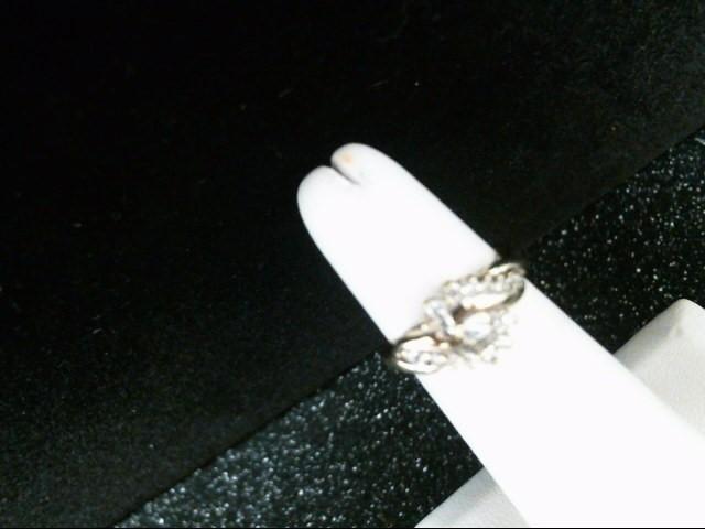 Lady's Diamond Cluster Ring 17 Diamonds .28 Carat T.W. 10K Yellow Gold 3.1g