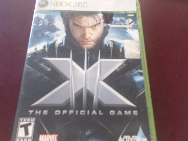 XBOX 360 X-MEN THE OFFICIAL GAME