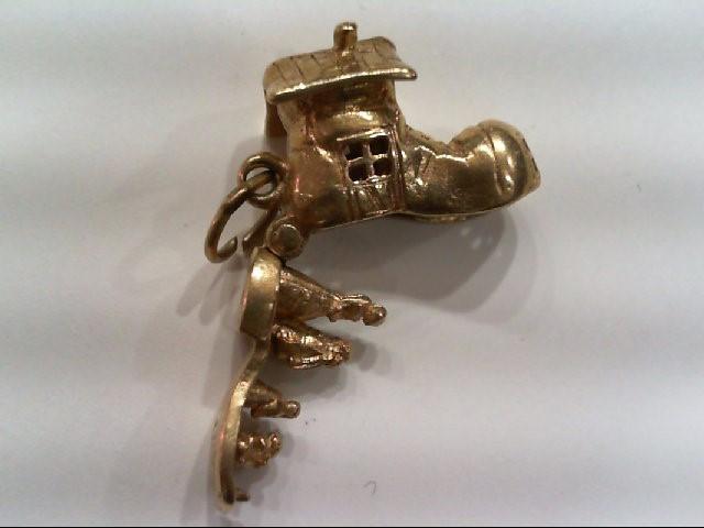 Gold Charm 14K Yellow Gold 4.4g