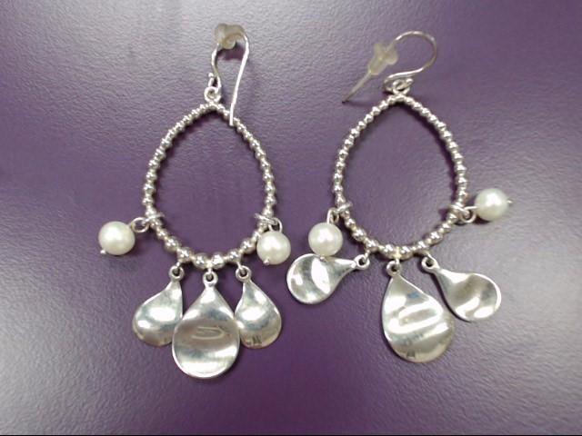 Silver Earrings 925 Silver 13.2g