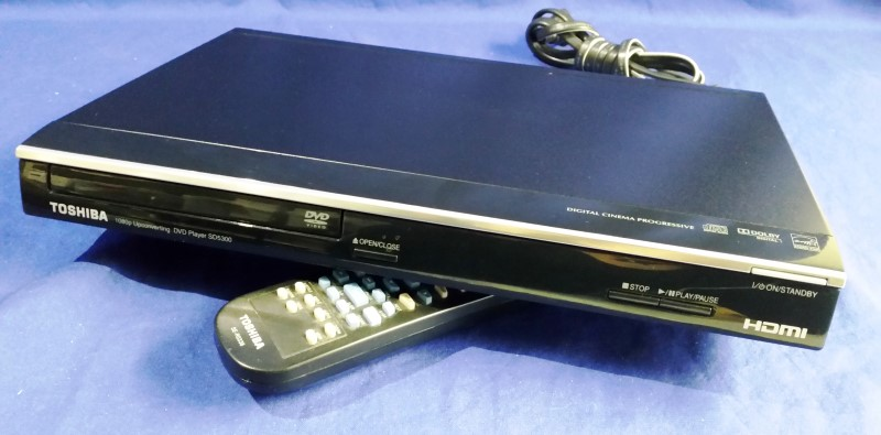 TOSHIBA DVD Player SD5300KU