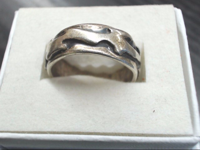 Lady's Silver Ring 925 Silver 5.7g Size:6.5