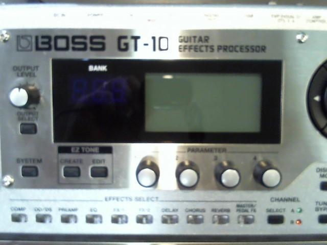 BOSS Effect Equipment GT-10