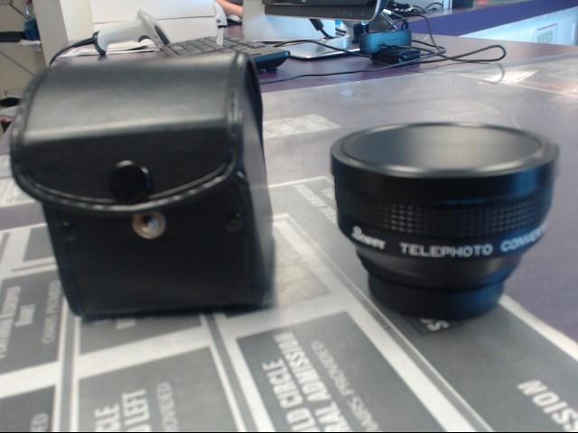 BOWER TELEPHOTO CONVERTER LENS FOR VIDEO 46MM/S-VII