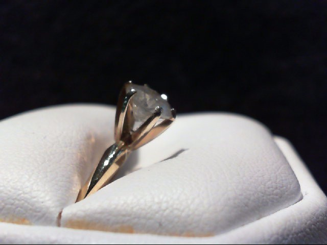 Lady's Diamond Solitaire Ring 1.15 CT. 14K Yellow Gold 2.31g