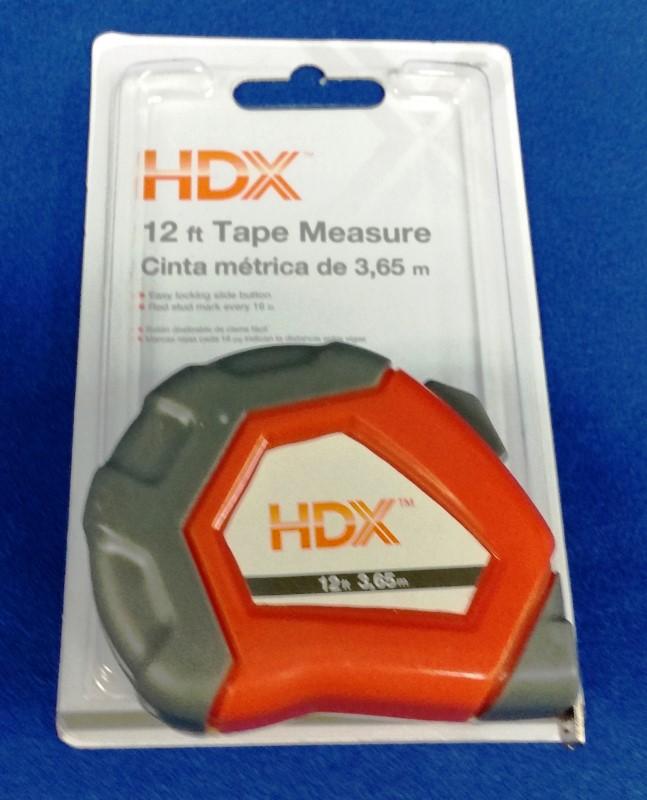 HDX 12FT TAPE MEASURE