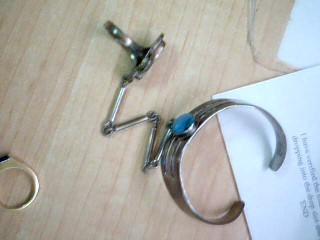 Silver Fashion Bracelet 925 Silver 35.7g