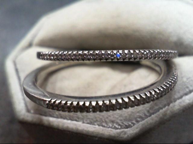 Silver-Diamond Earrings 80 Diamonds .400 Carat T.W. 925 Silver 7.1g